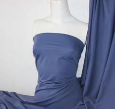 Darkslate blue Lycra/Spandex 4 way stretch Finish Fabric Giffany Gravity Falls, Lycra Spandex, Stretches, Fabric, Blue, Tops, Women, Fashion, Tejido