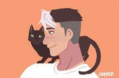 VLD fanart - Shiro's a cat fan~