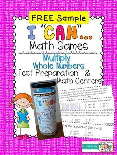 math game, math center, number