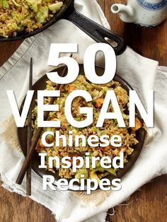 vegetarian foods - 50 Chinese Inspired Vegan Recipes for Chinese New Year (Connoisseurus Veg) Vegan Cru, Roh Vegan, Vegan Foods, Vegan Dishes, Vegan Meals, Vegetarian Recipes, Healthy Recipes, Vegan Recipes Chinese, Chinese Food Vegetarian