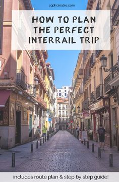 Want to travel to 10 cities in 1 month? Learn how to plan the perfect #interrail trip around #Europe !