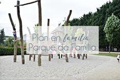 Qué hacer con niños en Pontevedra. Planes en familia en Pontevedra. Ocio al aire libre Galicia. Viajar. Isla de las Esculturas. Parque de la familia.
