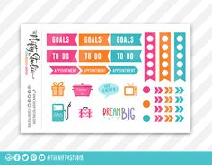 Planner Stickers Sam
