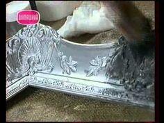 Декоративные страсти с Маратом Ка 2007 Серебрение антикварной рамы