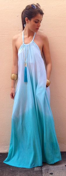 Lovely comfy casual light maxi dress