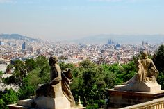 View from Montjuic | Barcelona (Spain)