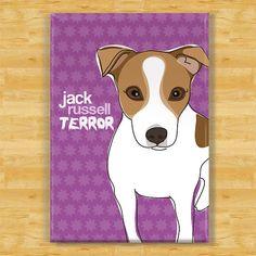 Jack Russell Terrier Fridge Magnet - Jack Russell Terror
