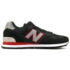 NB 574 Red X Black