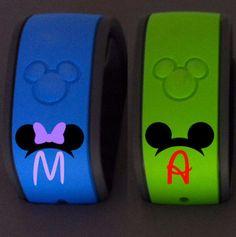 Disney Magic Band Decal Walt Disney Decal by MMVinylCreations