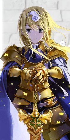 Sword Art Online: Alicization Archives - Taylor Hallo - Taylor Swift taking show anime and movies Arte Online, Kunst Online, Online Art, Anime Art Girl, Manga Girl, Anime Krieger, Anime Warrior Girl, Fantasy Anime, Sword Art Online Wallpaper
