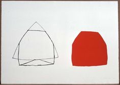 Joel Shapiro, Untitled (Double Red)