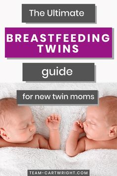 The Ultimate Resource Guide for Breastfeeding Twins - Team Cartwright Newborn Twins, Breastfeeding And Pumping, Newborn Care, Breastfeeding Tattoo, Twin Mom, Twin Babies, Baby Girls, Twin Nursing Pillow, Twin Baby Photos
