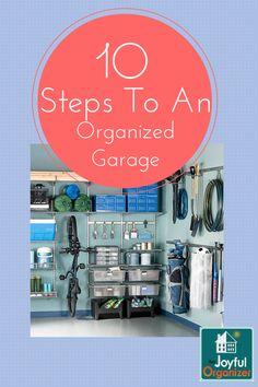 Organize Your Garage In A Weekend