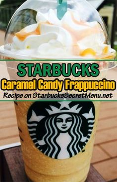 Coffee Frappuccino Add toffee nut syrup pumps tall, 3 grande, 4 venti) Top with whipped cream and caramel drizzle Starbucks Hacks, Starbucks Caramel, Starbucks Recipes, Coffee Recipes, Fondue Recipes, Cake Recipes, Cooking Recipes, Starbucks Secret Menu Items, Starbucks Menu