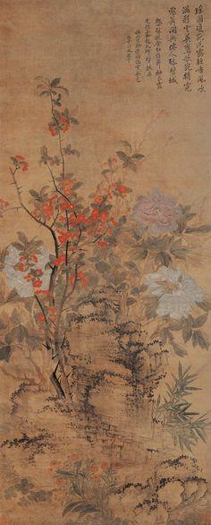 Yun Shouping (恽寿平) , 恽寿平 满堂春色