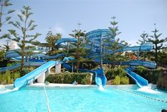 Park Aquatico Mijas - Water Park in Fuengirola less than an hour from Manilva on the Costa del sol, Spain