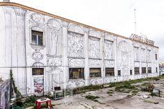 StreetArt Roma: Senza Titolo | Blu | 2012 | Zona: Ostiense | #art #streetart #roma