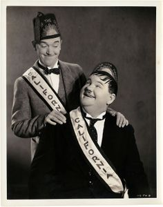Stan Laurel and Oliver Hardy, Stan Laurel made his stage debut at the Britannia Panopticon 1906!!!