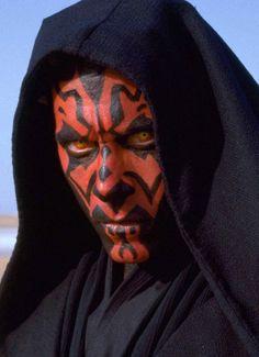 "Darth Maul (Ray Park) en ""Star Wars. Episode I: The Phantom Menace""."