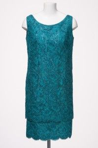 Gwen Gillam, tiered cocktail dress, ca. 1960s / Queensland Museum http://www.qm.qld.gov.au/ | thefashionarchives.org