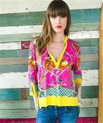 Let Rodeo San Antonio! Get the new Double D Ranch Retro Rodeo Tunic now @ Fiddlin Frogs