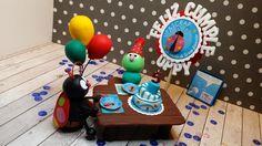 Miniaturas Ann Friks Original. Proyecto para el reto de marzo  celebrando el 5°aniversario de Up&Scrap.