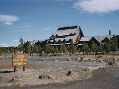 Yellowstone's Old Faithful Inn, 1965.