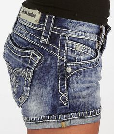 Women's Shorts – – Rock Revival Amy Stretch Short – Womens Shorts… - Sports Fitness Shorts Outfits Women, Cute Outfits, Teen Outfits, Short Outfits, Hot Pants, Rock Revival Shorts, Biker, Cute Jeans, Stretch Shorts
