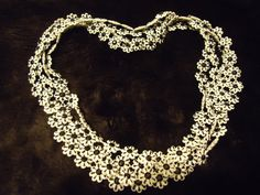 Vintage Long Necklace Flapper Jewelry Retro 50s by MartiniMermaid, $34.50