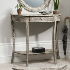 Gallery Stoddard Demilune Console Table