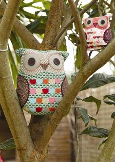 More owls lol I'm not an owl freak but I want to try making an owl pillow so I'm pinning a bunch of ideas