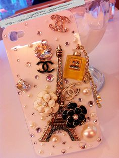 Adorable homage to Coco Chanel..... I am way too old for an iphone case like this... but I still think it is so much fun!