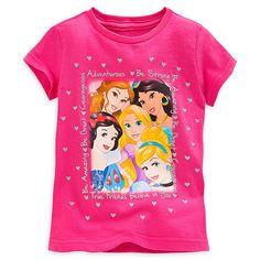 Disney Princess Selfie Tee for Girls | Tees, Tops & Shirts | Disney Store