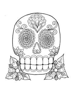 Dia de los Muertos Day of the Dead Sugar Skull Pop Art Pop Art