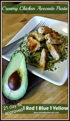 Clean Eating Meets Country Girl: Creamy Chicken Avocado Pasta