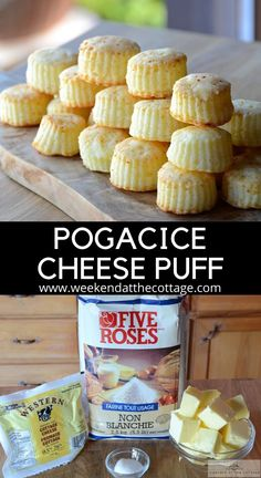 Everyone loves Pogačice - Serbian Cheese Puffs! A hot oven, butter and dry-pressed cottage cheese. Dry Cottage Cheese, Cottage Cheese Recipes, Bite Size Snacks, Easy To Make Dinners, Cheese Puffs, Mini Sandwiches, Thing 1, Tasty Bites, Food Facts