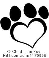 1170995-black-and-white-heart-shaped-paw-print.jpg 165×195 pixels