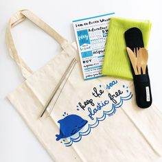 Plastic free lifestyle Starter Bundle  The perfect eco friendly gift for mermaids that want to go plastic free for the sea