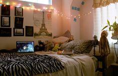Luz de natal em nossos quartos! - Jeito de Casa