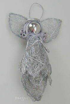 Angel ornamentdoll from a mans tie do it yourself pinterest 15 darling christmas angel crafts idea box by sue housekaboodle solutioingenieria Choice Image