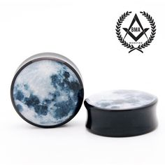 Full Moon BMA Plugs ❤ liked on Polyvore featuring jewelry, earrings, piercings, plugs, body jewelry, resin jewelry, clear resin jewelry, resin earrings and clear crystal earrings