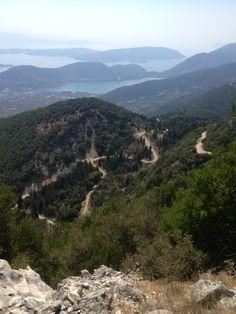 Stunning views every way we look... Lefkas, Greece. www.getactivelefkas.com
