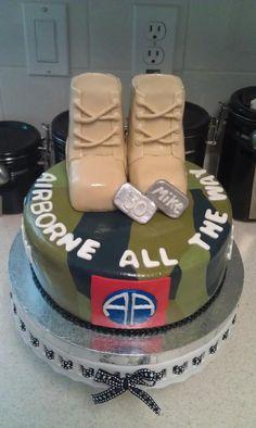 82nd Airborne Cake Cakes Cake Army Cake Birthday Cake