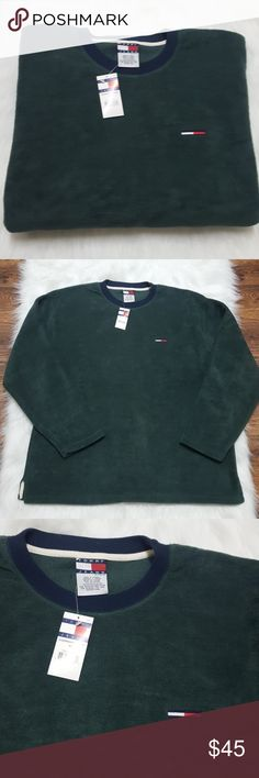 55f066f09 True vintage with tags, straight from Tags: Urban Outfitters, vintage  reissue, colorblock, logo Tommy Hilfiger Shirts Sweatshirts & Hoodies