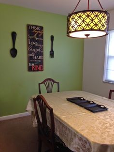 Pinning with Mrs. Pennington: first home before and after