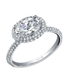 Stainless Steel Oval Cubic Zircon Black Solitaire Ring for Women Jewelry Gift 6//8//10