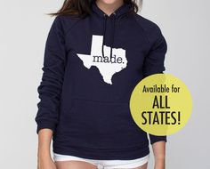 All States and Washington DC 'Made' by SevenMilesPerSecond on Etsy, $39.00
