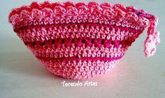 Tecendo Artes em Crochet: Porta Moedas Cute!