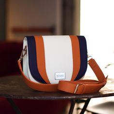 Custom made saddle bag with color blocks. Customize your bag in the colors you like with fun to play tool. The bag will be made within four weeks and shipped to you. Can Design, Design Your Own, Back To The Future, Custom Bags, You Bag, Saddle Bags, Seasons, Instagram Posts, Collection