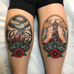 Nautical tattoo, traditional tattoo old school, traditional thigh tattoo,. Tatto Old, 4 Tattoo, Tattoo Fonts, Back Tattoo, Tattoo Flash, Snake Tattoo, Tribal Tattoos, Body Art Tattoos, Sleeve Tattoos